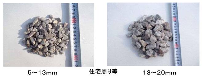 息吹砕石 5〜13mm 13〜20mm