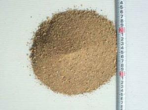 真砂土8〜0mm 洗い砂6:4